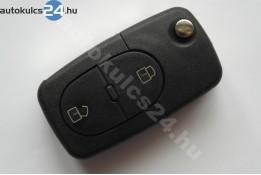 Audi 2 carcasă cheie briceag cu butoane ovală