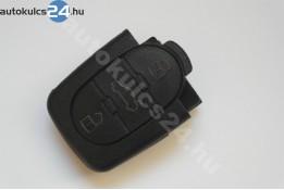 Audi 3 carcasă cheie cu butoane partea inferioară ovală