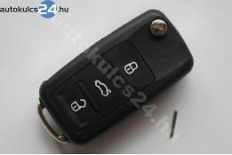 Volkswagen 3 carcasă cheie briceag cu butoane STIFT