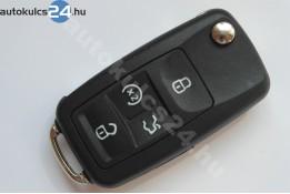 Volkswagen 4 carcasă cheie briceag cu butoane