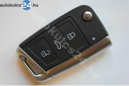 Volkswagen 3 carcasă cheie cu butoane cadru metalic