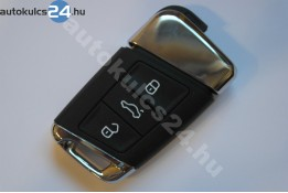 Volkswagen 3 cheie cu butoane insertabilă metalic