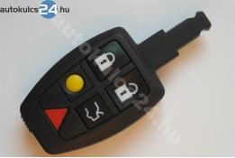 Volvo 5 cheie de siguranțăcarcasă telecomandă cu butoane #3